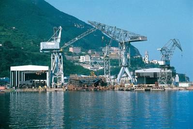 A fincantieri Shipyard (File Image / CREDIT Fincantieri)