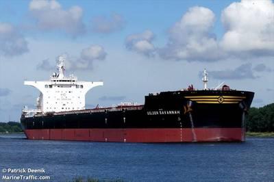 A Golden Ocean bulk carrier - Image by Patrick Deenik/MarineTraffic.com