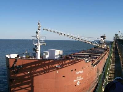A Great Lakes Stone Carrier (file photo)
