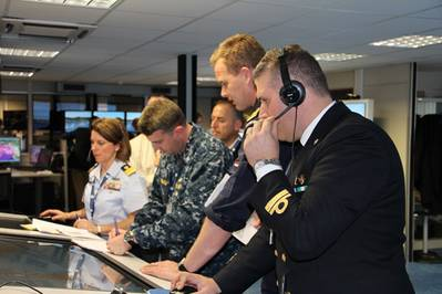 A Harbor Protection Table-Top Exercise (Photo: NATO).