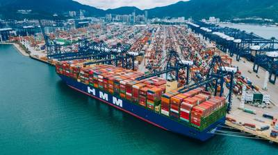 A HMM container ship - (File Photo: HMM)