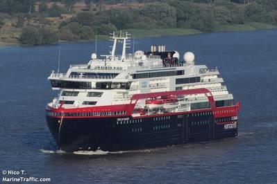 A Hurtigruten ship - Credit: Nico T./ MarineTraffic.com
