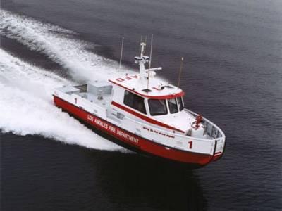 A Jensen-designed fireboat: Photo courtesy of Jensen