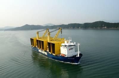 A Jumbo Heavy-lift Vessel: Photo credit Jumbo