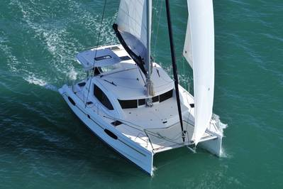 A Leopard 39 Catamaran: Photo credit Leopard