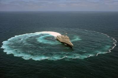 A Littoral Combat Ship: USN photo