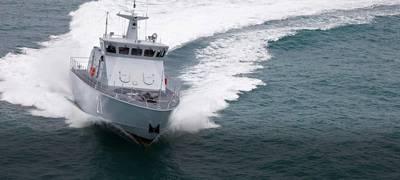 A Luerssen-built patrol boat (CREDIT: Luerssen)