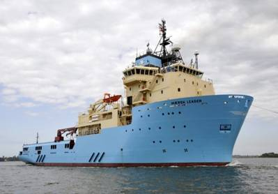 A Maersk OSV: Image courtesy of Maersk