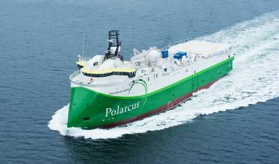 A Polarcus seismic vessel - Credit: Eburlid/Wikimedia - CC BY-SA 3.0