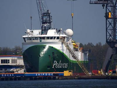 A Polarcus vessel - Credit: Alf van Beem - Wikimedia/CC0 1.0