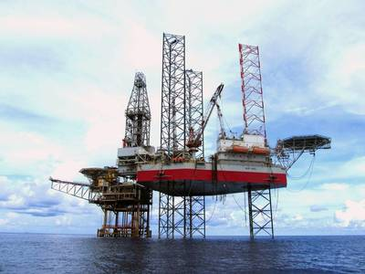 A Seadrill Jack-up Rig: Photo courtesy of Seadrill