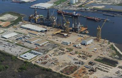 A Signal Shipyard facility: Photo courtesy of Signal International