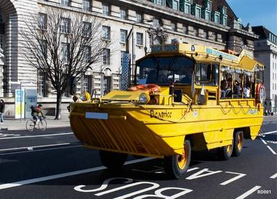A Similar DUKW: Photo courtesy of London Duck Tours