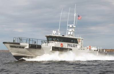 A Southwest Alaska pilot boat equipped with Humphree interceptors (Photo: Humphree USA)