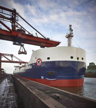 A St. Lawrence Seaway bulk vessel (SLSMC)
