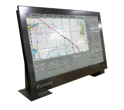 A Transas 24-inch' ECDIS Panel PC (Photo: Transas Marine).
