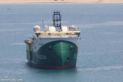 A vessel previously owned by Polarcus  / Credit: smp/MarineTraffic.com