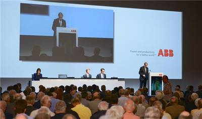 ABB's 2013 AGM: Photo courtesy of ABB