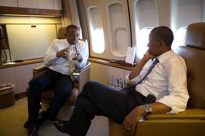 Aboard Air Force 1