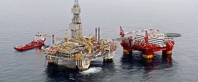 Accommodation Rig & Njord A Platform: Photo credit Statoil