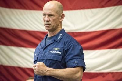Adm. Charles Ray, the Vice Commandant of the Coast Guard (U.S. Coast Guard photo by Ryan Dickinson)