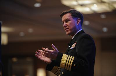 Adm. Mark E. Ferguson, Vice Chief of Naval Operations: Photo credit USN