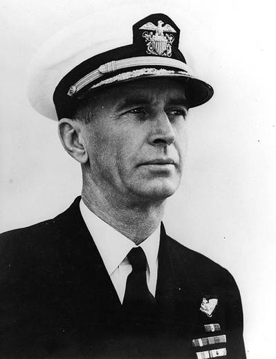 Admiral Ernest J. King (Official U.S. Navy Photograph, now in the collections of the National Archives.)