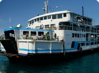 Aleson Shipping RoPax Ferry: Photo courtesy of the owners