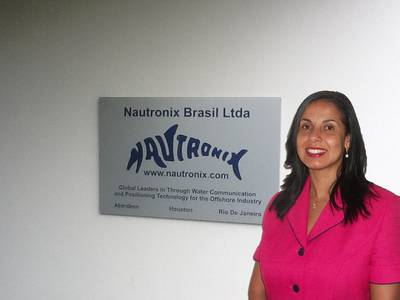 Alessandra Bunel as Business Development Manager for the Brazilian region