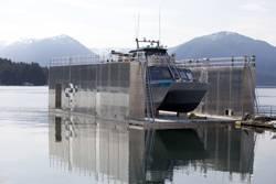 Allen Marine's Floating Aluminum Dry Dock