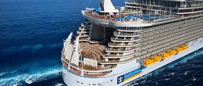 'Allure of the Seas': Photo credit Royal Caribbean Cruises