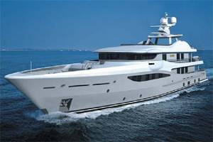 AMELS' 171 semi-custom mega yacht series.