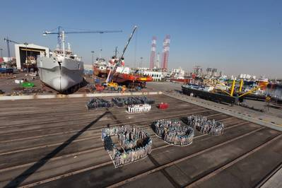 Damen Shipyards Sharjah Anniversary Photo Damen