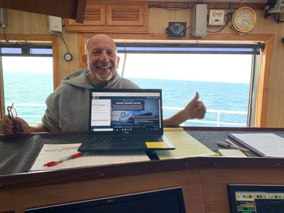 American Seafoods has implemented a Marine Learning Systems LMS. Pictured is Lance Camarena, Director for Training and Organizational Development for American Seafoods Company.  (Photo: American Seafoods Company)
