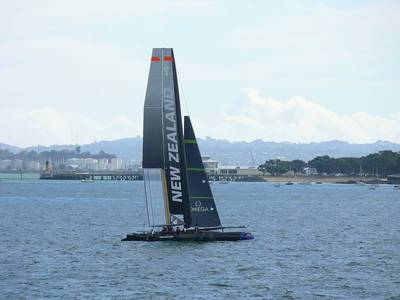 America's Cup World Series Contestant: Photo credit CCL Team NZ