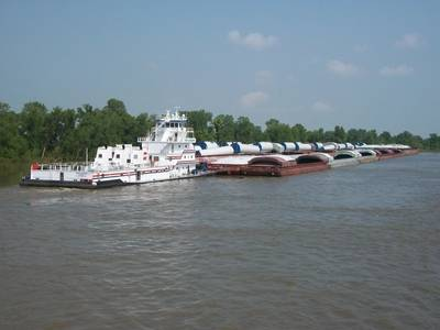 An AEP river tow (File image)