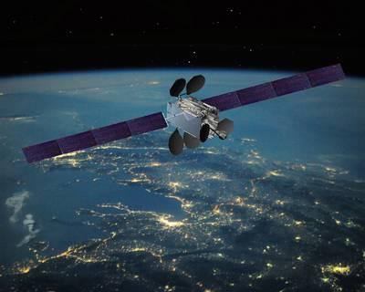 An Intelsat satellite (Photo courtesy of Intelsat)