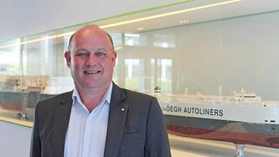 Andreas Enger (Photo: Höegh Autoliners)