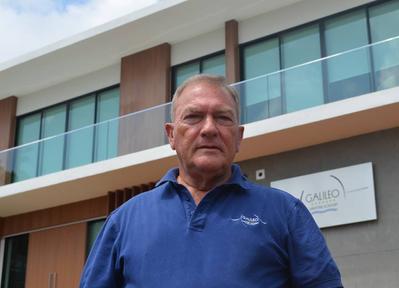 Anthony Gould AFNI FRGS,  Chairman and CEO  (Photo:Galileo Maritime Academy )