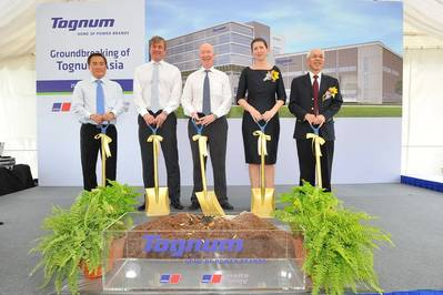 Singapore Groundbreaking: Photo credit Tognum