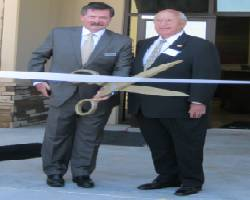 aptain Stephen Conway and Mayor Wayne Riddle