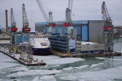 Arctech Helsinki shipyard (Photo: Eric Haun)
