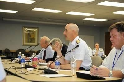 Arctic Spill Seminar: Photo credit USCG
