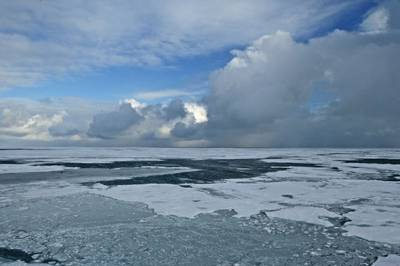 Arctic Summer Ice: Photo courtesy of NOAA