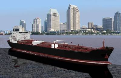Artist's rendition of Ecotanker (Photo: NASSCO)