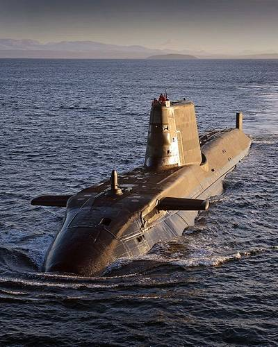 Astute-class submarine: Photo CCL