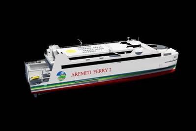 Austal RoPax Ferry: Photo courtesy of Austal