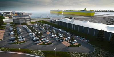 Australia's Largest Automotive and RoRo Terminal Photo MIRRAT