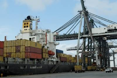 Bayport Container Terminal: Photo courtesy Port of Houston