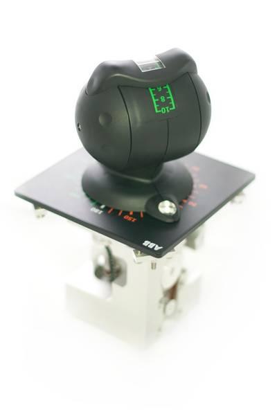 Azipod® marine propulsion lever: Image credit ABB